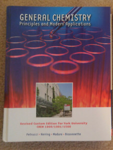 General Chemistry (Chem 1000/1001/1500) YorkU textbook