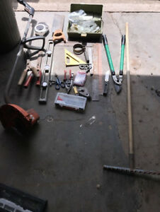 Bunch of tools 30$