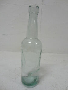Vintage Soda Bottle Applied Blob Top with dented style texture