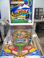 PINBALL SUPERSONIC