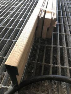 Oak stir/landing nosing