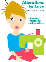 Alterations and sewing