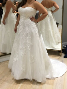 Maggie Sottero - size large wedding dress - $700 or Best Offer