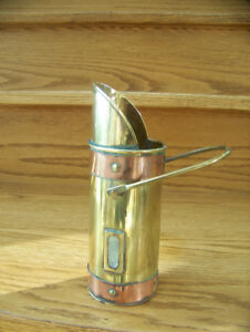Brass and Copper Pencil or Match holder