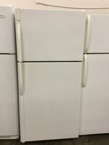 "Kenmore 30"" White Fridge and Freezer"