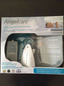 Brand-New Angelcare Baby Video, Movement & Sound Monitor