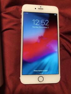 Mint condition Phone 6S plus 32 gb rose gold phone