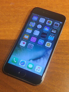 IPhone 6 16GB with Bell/Virgin - Apple Care Warranty til Apr15