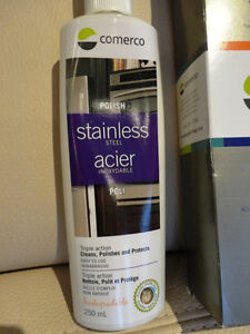 Comerco Stainless Steel Appliance Care Kit - Cleaner & Polisher Kitchener / Waterloo Kitchener Area image 3