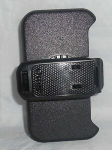 Otterbox Defender Series For Iphone 4 4S Belt Clip / Holster Bla