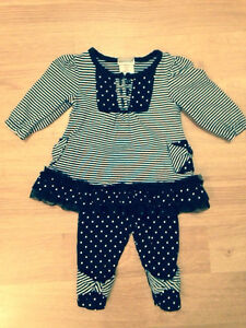 0-3 month 2 piece outfit