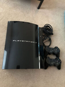 Playstation 3 console - PS3 with 2 controllers