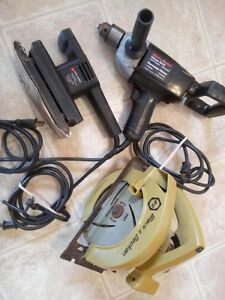 Black and Decker pawer tools