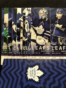 Toronto Maple Leafs (Blue Line - 8 game package )