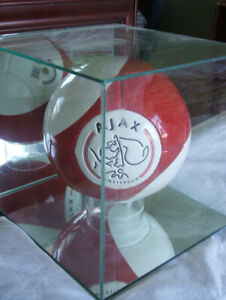 DISCOUNT! ONLY $40 on Ajax Soccer Ball Display Case