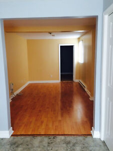 Two bedroom, Second floor apartment, Downtown.