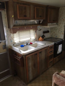 trade Travel Trailer and boat