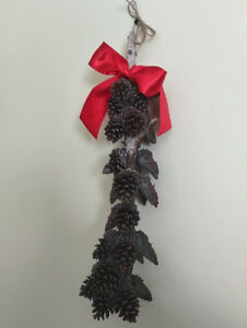 Fall/Winter Pine Cone Decor