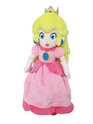 "SALE! New Little Buddy Super Mario 1418 All Star Peach 10"" Stuffed Plush Doll"