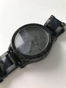Montre Nixon 51-30 Chrono - Matte Black/Dark Tortoise