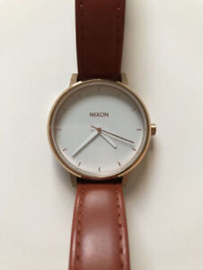 Montre Nixon The Kensington - Rose Gold/White - NEUVE
