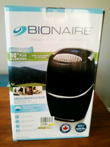 Dehumidifier 20L Bionaire PureQuiet - Can Be Fully Automated London Ontario image 1