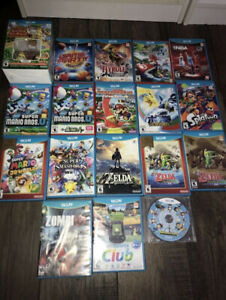 Nintendo Wii U System Games Acessories controller for sale