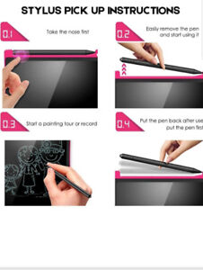 Perfect gift-Educational LCD drawing and writing tablets