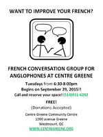 Free French Conversation Group