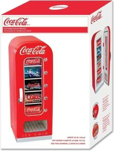 KOOLATRON - COCA-COLA - RETRO STYLE - PORTABLE - VENDING FRIDGE