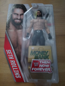 SETH ROLLINS Then Now Forever WWE figure