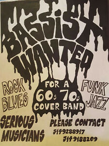 BASSIST WANTED West Island Greater Montréal image 1