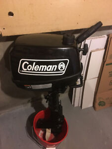 Coleman Four Stroke 5HP Outboard Motor/engine