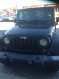 No trades - 2007 Jeep Wrangler Black SUV, Crossover