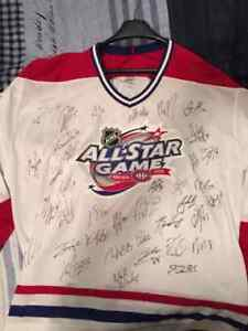 Jersey signed by Crosby Ovechkin and Price!!!