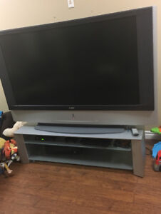 "60"" SONY tv with stand"