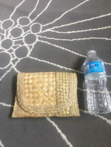 Cute Straw Clutch From The Bahamas