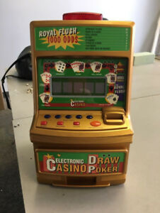 TABLE TOP POKER MACHINES-$15BRAND NEW IN THE BOX