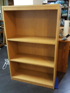 Two basic bookshelf units for sale, $25 each or both for $40