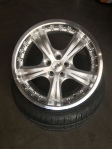 "BRAND New 17"" FRD Racing Ally Rims 5x100"