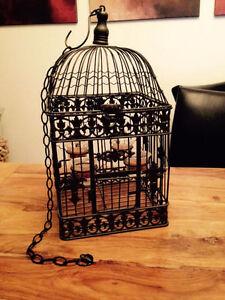 Bird cage tea light holder West Island Greater Montréal image 1