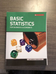Basic Statistics for Business and Economics, 6th ed