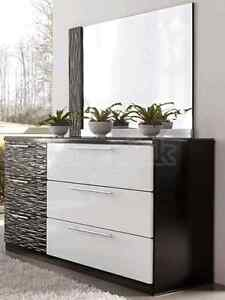 Black and White Bedroom Furniture  Strathcona County Edmonton Area image 1