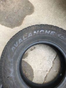 235/75r17  Hercules Avalanche Extreme M+S light truck tires