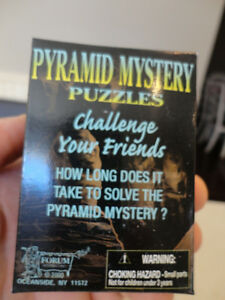 Selling Brand New Solid Wood Pyramid Mystery Puzzles - I have 24 Kitchener / Waterloo Kitchener Area image 5