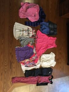 HARDLY WORN    GIRLS  SIZE 7/8    CLOTHES  SEE ALL PICS