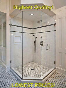Glass Shower Door with Hinges & Handles - Brand New! London Ontario image 4