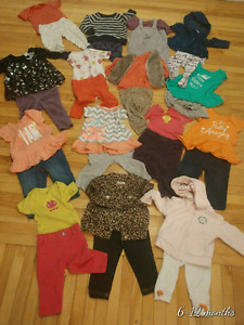 6 - 12 months baby girl clothes