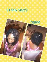 coiffure et tresses africaine à  domicile OU chez moi