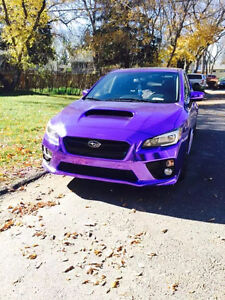 2015 PURPLE SUBARU WRX /SPORT TECH PACK/ AUTO TRANSMISSION/ AWD